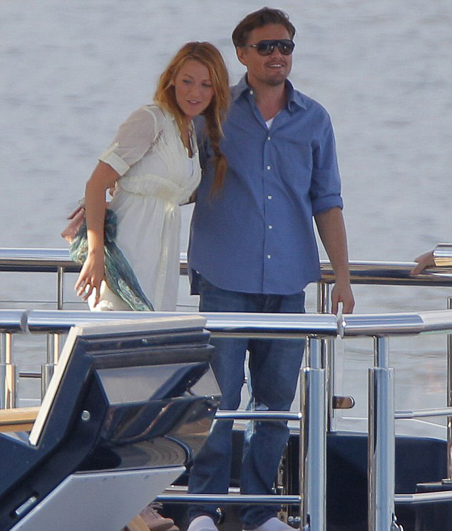 Leo and Blake Lively on  Seven Seas