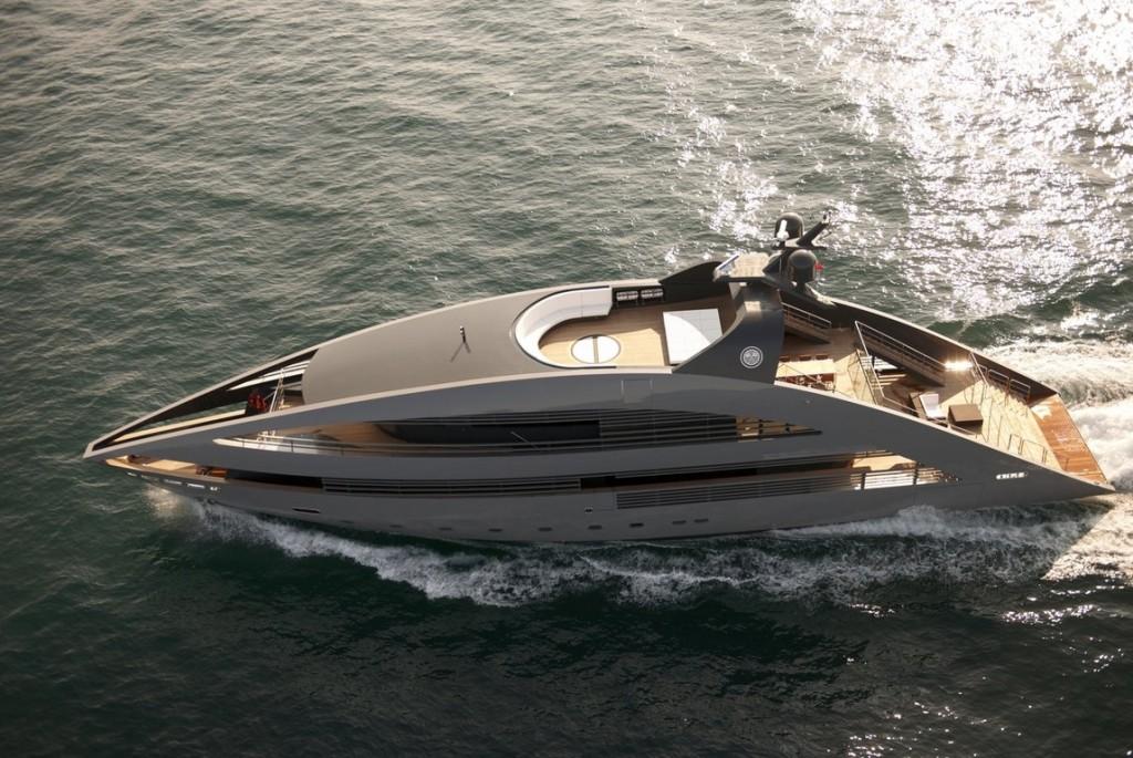Naomi Campbell and Vladimir Doronin and Leonardo DiCaprio and Bar Refaeli were on superyacht Ocean Emerald in capri