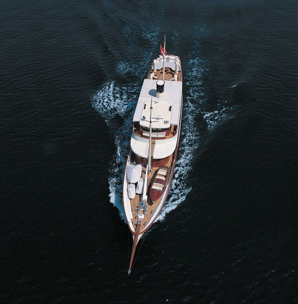 Johnny depp's Luxury yacht AMPHITRITE (ex Vajoliroja) available to charter throughout the Mediterranean