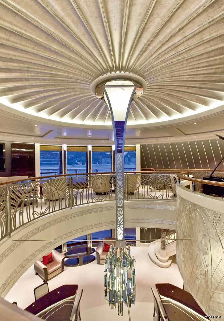 Luxury Yacht Engine Room: Inside Bill Gates' $2 Million-a-week Rented Yacht