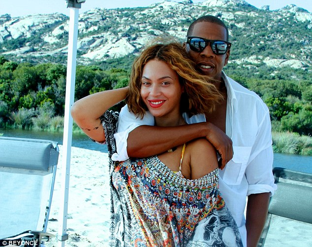 beyonce and jay Z on board superyacht ALFA NERO in south of france