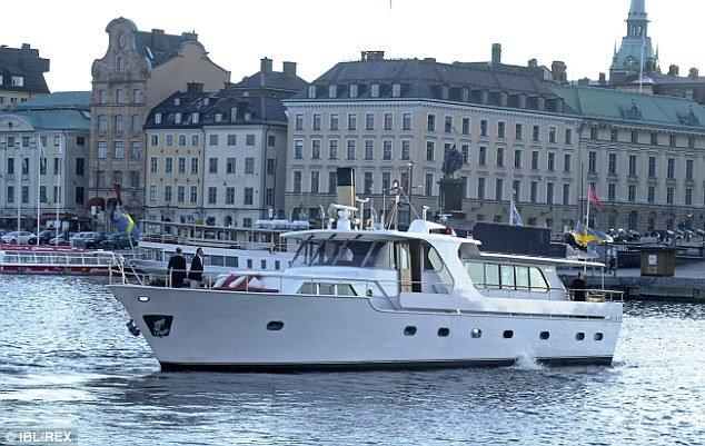 luxury yacht Merceditas had lady gaga on baord in sweden