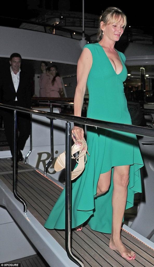 Uma Thurman Cannes 2015