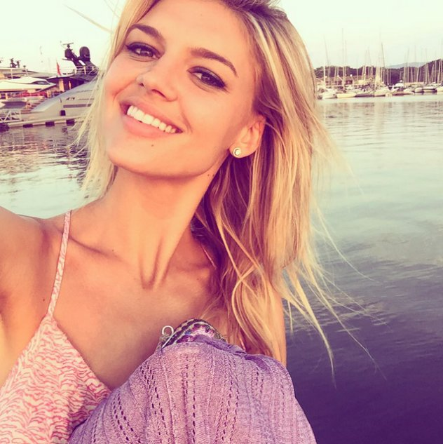 leo dicaprio's model kelly rohrbach shares pic of superyacht he rented in st tropez