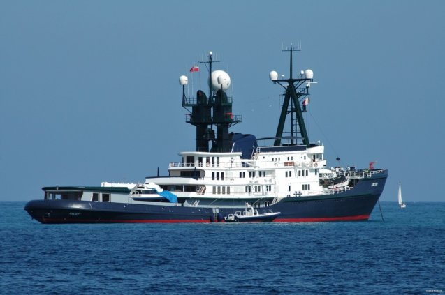 james packer's superyacht arctic p