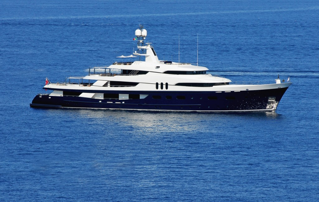 Magic Johnson and Samuel L Jackson rent superyacht amadeus in the Mediterranean