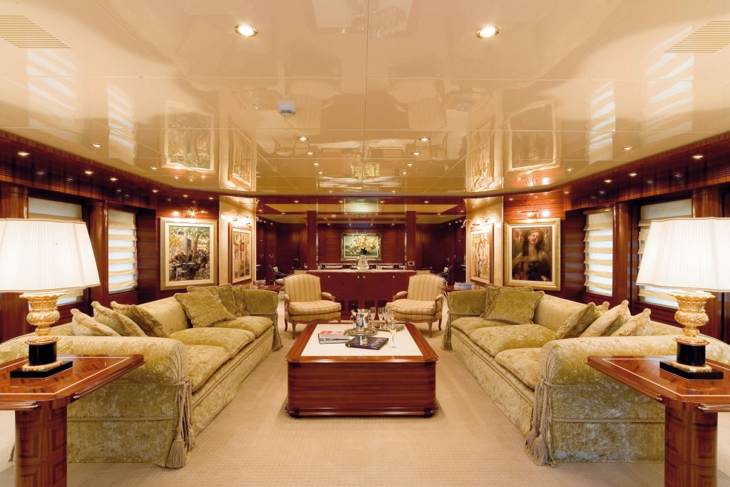 superyacht o'ceanos salon
