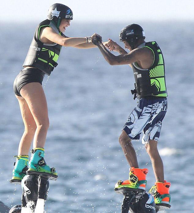 Kylie and Tyga St Barts 1