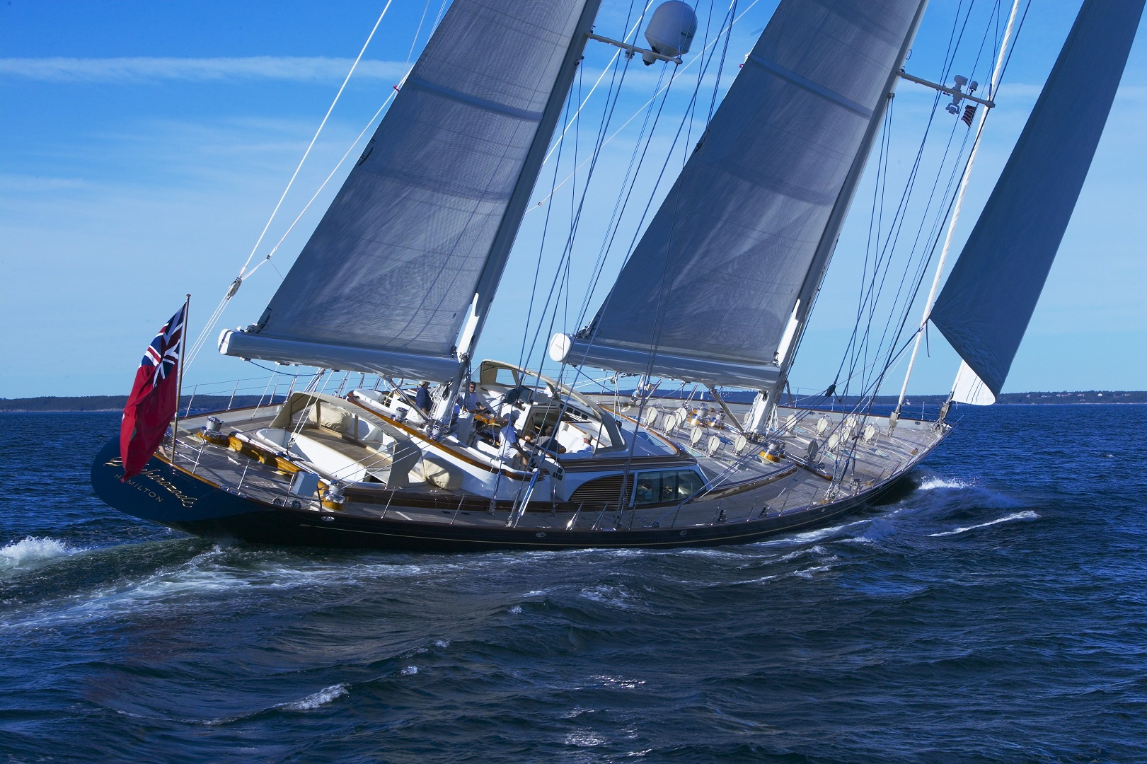 sailing yacht asolare used in film runner runner (starring justin timberlake and ben affleck)