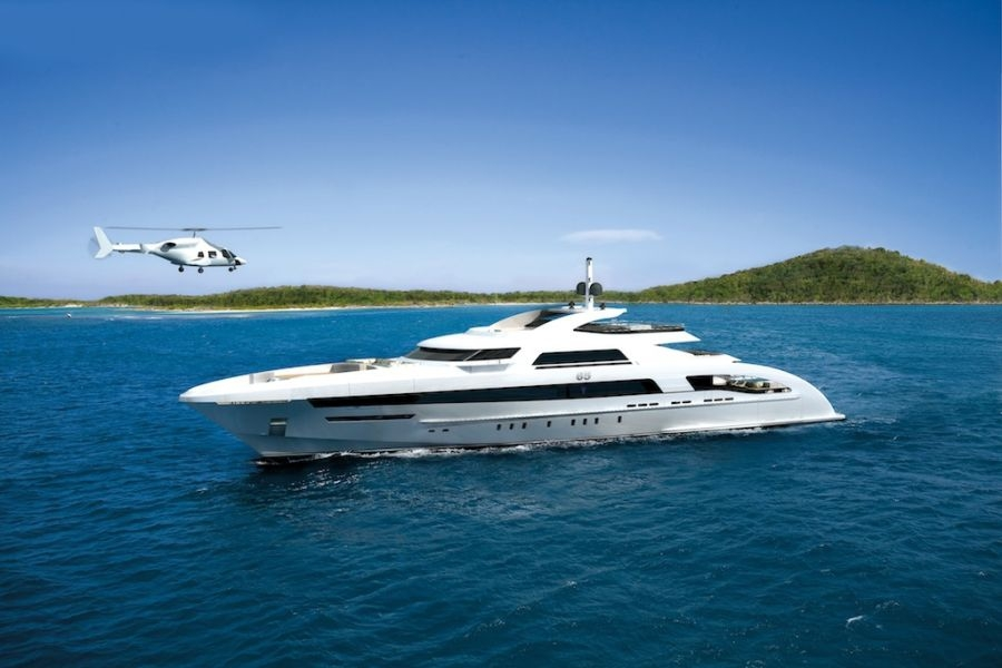 Superyacht Galactica Star rented by jay z and beyonce
